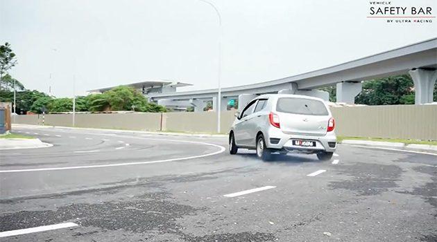 """Perodua Axia 真的可以""""甩尾""""?专人示范给你看!"""