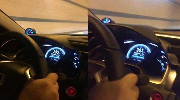 封印解除!美规 Honda Civic FC 极速可达261km/h!