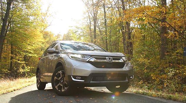抢先看!美规 2017 Honda CR-V 试驾影片!