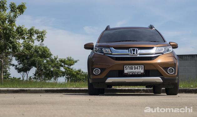 跨界新势力, Honda BR-V 曼谷试驾!