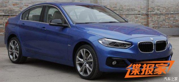 BMW 1 Series Sedan 内装正式公布!