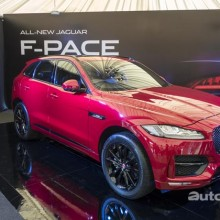 2016 Jaguar F-Pace R-Sport 3.0 340PS