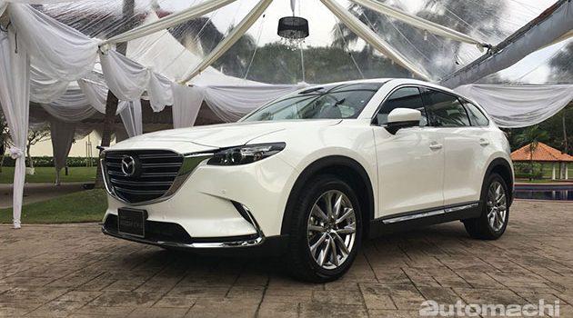 Mazda CX-9 详细细节公布,配置丰富!