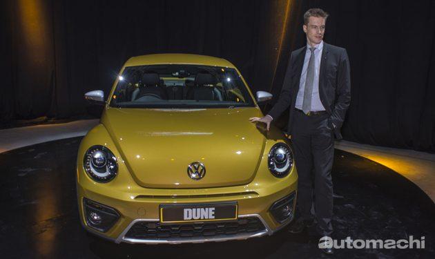 Volkswagen Beetle Dune 大马限量发售!
