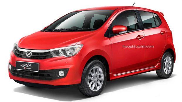 全新 Perodua Myvi 即将在明年发布