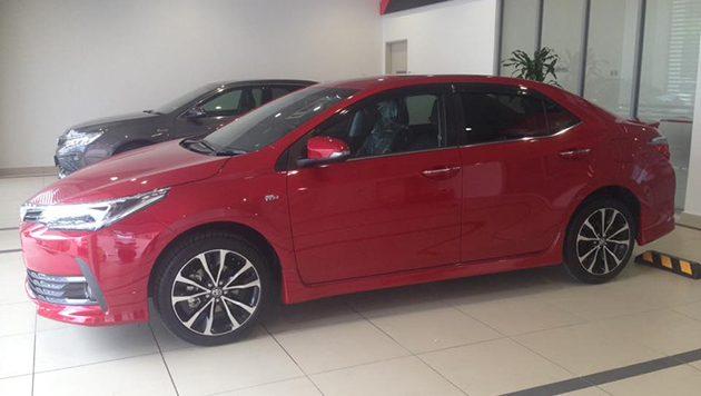 亮红色! Toyota Corolla Altis Facelift 再现身!