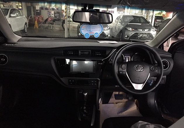 Toyota Corolla Altis Facelift 实车现身!