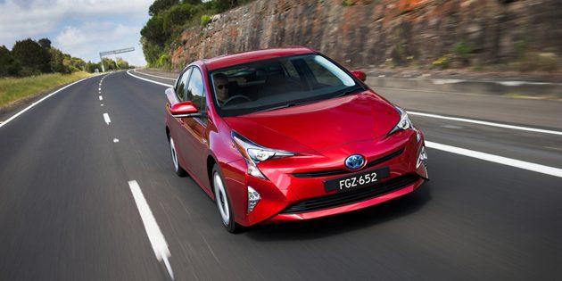 Toyota Prius 获得EURO NCAP评选为最安全房车!