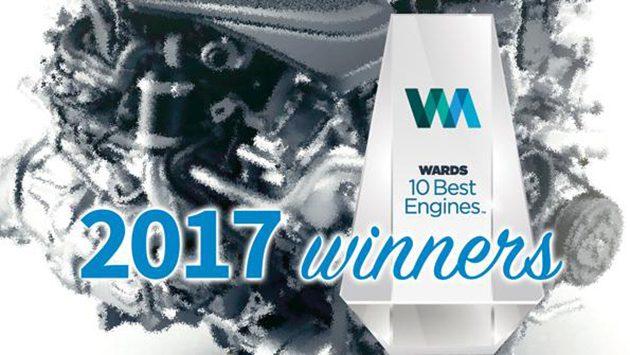 2017 Wards 10大引擎出炉!再见V8!