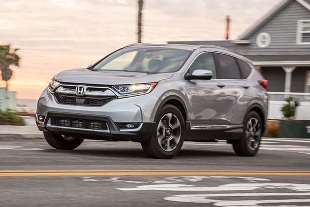 0-100 7.5秒! 外媒公布 Honda CR-V 2018 详细参数!