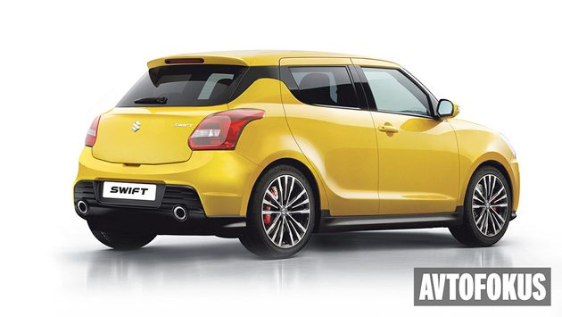 Suzuki Swift Sport 2017 或现身TAS!