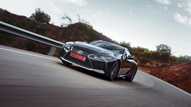 豪华旗舰 Lexus LC500 即将正式登场!