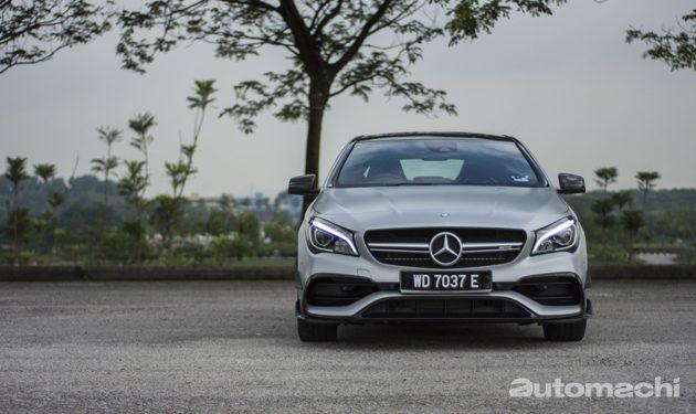 最入门轿跑? Mercedes-AMG CLA45 2016 试驾!