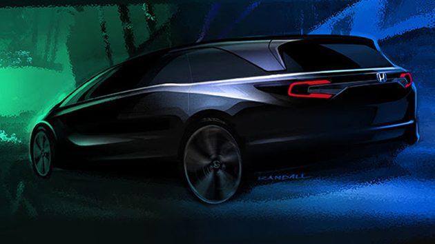 更加帅气! Honda Odyssey 2017 预告释出!