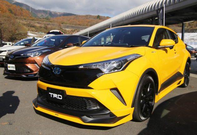 Toyota C-HR TRD 和Modellista版本实车现身!