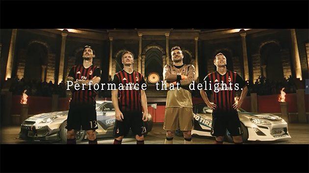 Toyo Tires 发布与AC Milan合作的第三支影片!