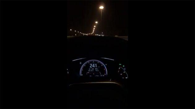 Remap ECU!泰规 Honda Civic FC 极速可达241 km/H!