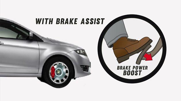 让影片告诉你什么是 Brake Assist !