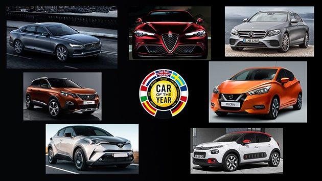 C-HR入选Car Of The Year( ECOTY )最终名单!