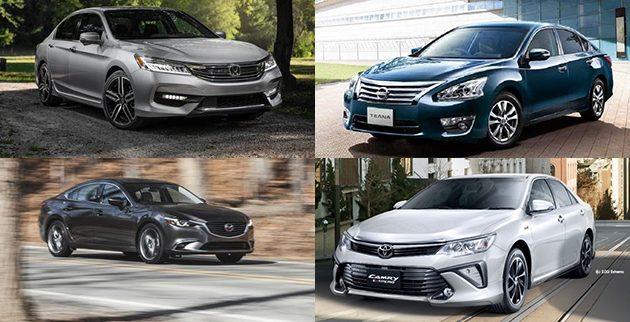 2017 Toyota Camry 2.0和其他D-Segment残酷大比拼!
