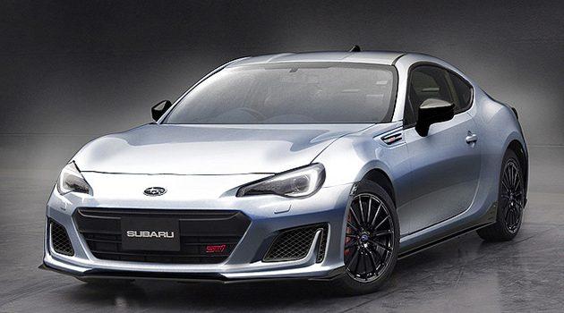 300匹! Subaru BRZ STI Sport Concept 将现身TAS!