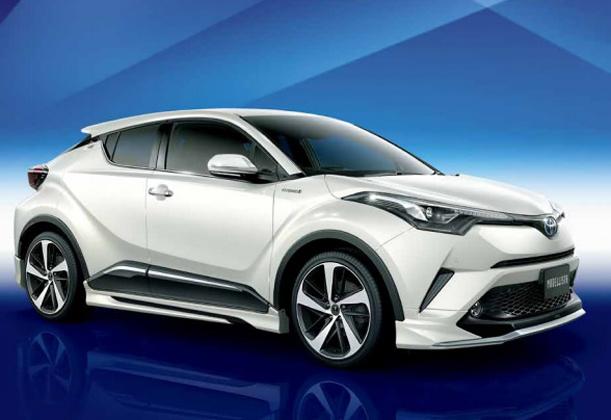 Toyota C-HR Modellista 官方图现身!