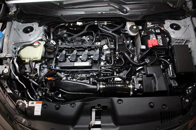 Honda Civic FC所采用的L15B7涡轮引擎