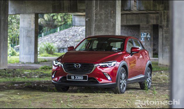 跨界味道的掀背, Mazda CX-3 !