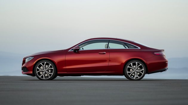 Mercedes-Benz E Coupe 2018 正式发布!