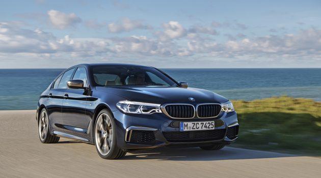 比M5还快! BMW M550 正式发布!