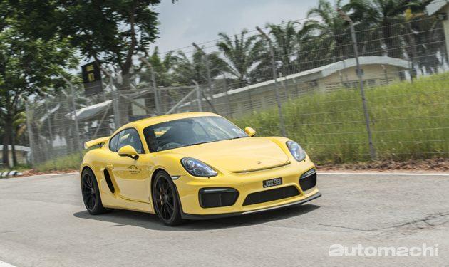 Porsche Cayman GT4 ,为赛道而生!