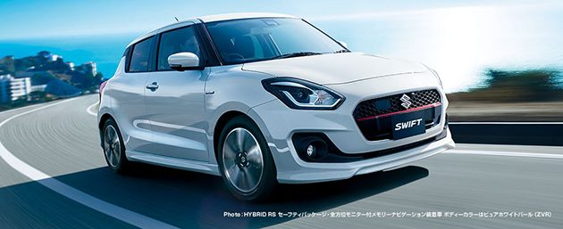 Suzuki Swift 2017 正式在日本发布!