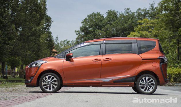Toyota Sienta 1.5V,移动社群
