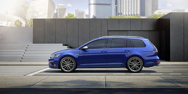 VW Golf R 2017 登场,最大马力310 ps!