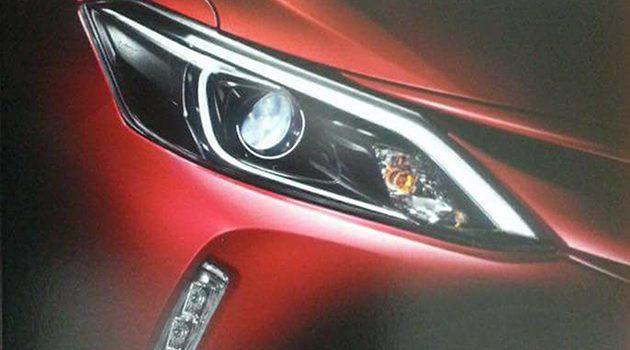 Toyota Vios 2017 预告释出!全新设计!
