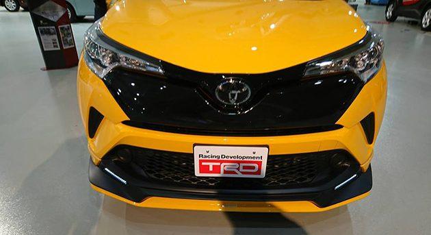 东京改装车展:五花八门的改装 Toyota C-HR !