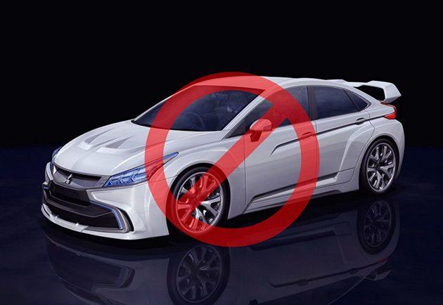 Nissan确认 Lancer Evo 暂时不在计划中!
