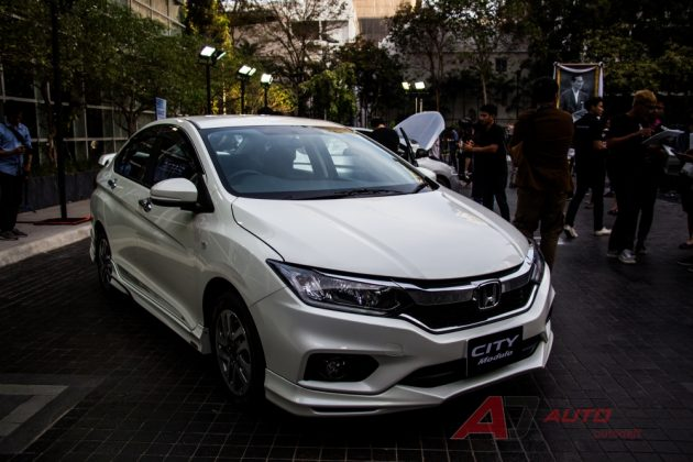 2017 Honda City Modulo 版本现身!