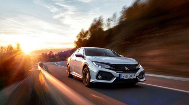 1.0涡轮登场! Honda Civic HB 欧洲正式登场!