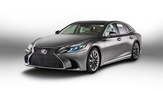 王者回归! Lexus LS 2018 正式发布!
