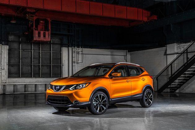 全新小型Crossover Nissan Rogue Sport 现身北美!