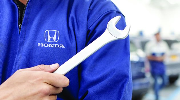 Honda 将在全马7地点提供免费32点检查服务!