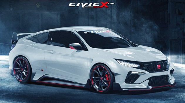 2018 Honda Civic Type R 规格确定 ! 最大马力340 ps!