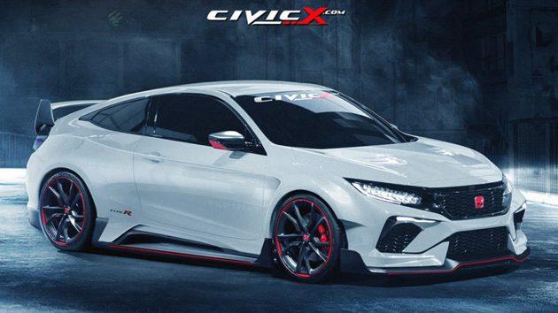 2018 Honda Civic Type R规格确定 ! 最大马力340 ps!