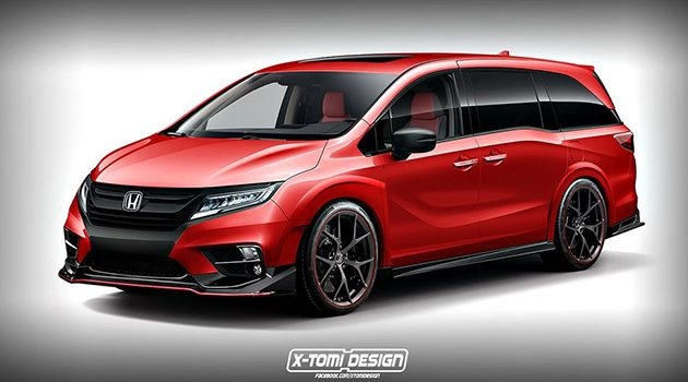MPV也要运动? Honda Odyssey Type R 假想图现身!