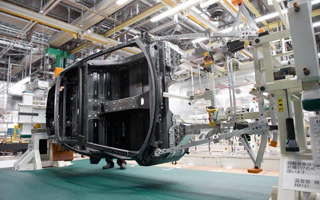 天使之音!带你去看 Lexus LFA 的生产过程!