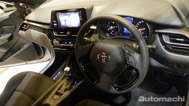 新加坡车展: Toyota C-HR 东南亚首发!