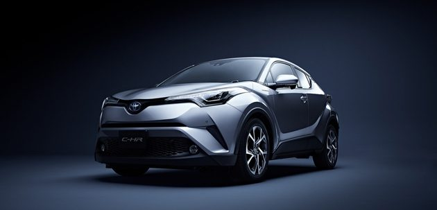 Toyota C-HR 或取代Vezel成为日本最畅销SUV!