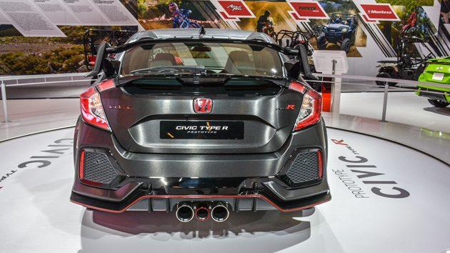 发布在即! 2018 Honda Civic Type R 细节全公开!