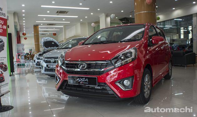 Perodua Axia 2017 有什么改变?